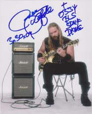Black Label Society ZAKK WYLDE Signed 8x10 Photo