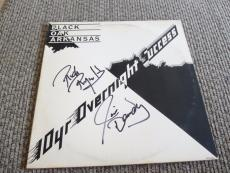 Black Oak Arkansas Jim Dandy & Rich Signed Autographed LP Album PSA Guaranteed 1