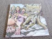 Black Oak Arkansas Jim Dandy & Rich Signed Autographed LP Album PSA Guaranteed 2