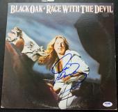 Black Oak Arkansas Signed Autographed Album Jim Mangrum LP Record JSA Authentic