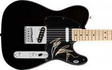 Black Rebel Motorcycle Club Signed Squire Telecaster Guitar! Psa/dna Coa V18353