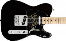 Black Rebel Motorcycle Club Signed Squire Telecaster Guitar! Psa/dna Coa V18354