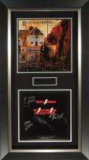 Black Sabbath Signed We Sold Our Soul Album Framed