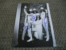 Black Sabbath IP Signed Autographed 11 x 14 Photo X3 RARE