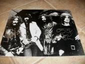 Black Sabbath IP Signed Autographed 11 x 14 Photo X4 Ozzy Ward Butler Iommi RARE