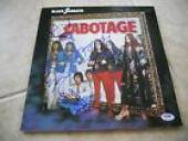 Black Sabbath Sabotage Signed Autographed All 4 LP Poster Flat PSA Certified