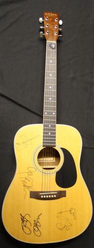 BLACK SABBATH signed Acoustic guitar signed by OZZY/GEEZER/IOMMI/WARD-JSA