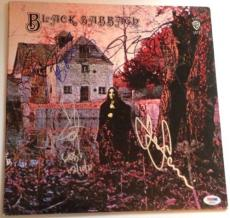 BLACK SABBATH w/ Ozzy Osbourne GROUP Signed 1st ALBUM LP w/ PSA DNA Loa