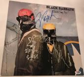 Black Sabbath group signed album never say die psa dna ozzy osbourne tony iommi