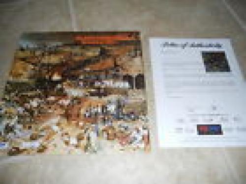 Black Sabbath x3 Geezer Tony Bill Signed Autographed LP Album PSA Certified #1