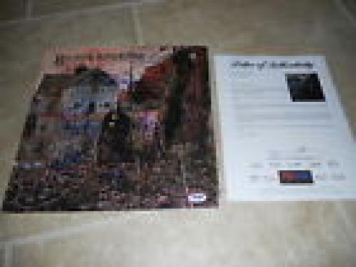 Black Sabbath x3 Geezer Tony Bill Signed Autographed LP Album PSA Certified #2