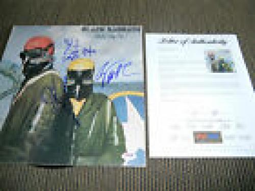 Black Sabbath x4 Ozzy Geezer Tony Bill Signed Never Say Die LP PSA Certified #4