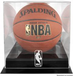 NBA Logo Blackbase Basketball Display Case - Mounted Memories