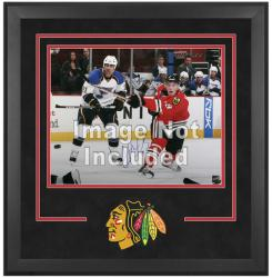 "Chicago Blackhawks Deluxe 16"" x 20"" Horizontal Photograph Frame - Mounted Memories"