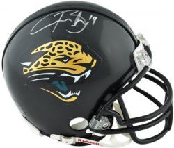 Justin Blackmon Jacksonville Jaguars Autographed Riddell Mini Helmet