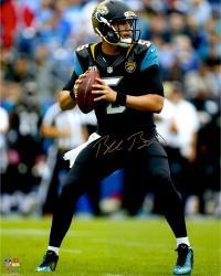 """Blake Bortles Jacksonville Jaguars Autographed 16"""" x 20"""" Dropback Pass Photograph"""