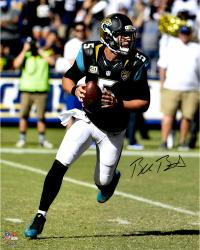 "Blake Bortles Jacksonville Jaguars Autographed 16"" x 20"" Scramble From Pocket Photograph"