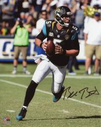 "Blake Bortles Jacksonville Jaguars Autographed 8"" x 10"" Scramble From Pocket Photograph"