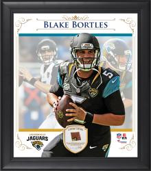"Blake Bortles Jacksonville Jaguars Framed 15"" x 17"" Composite Collage with Piece of Game-Used Football"