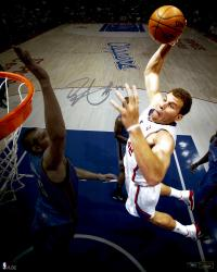 "Blake Griffin Los Angeles Clippers Autographed 08"" x 10"" Dunk VS OKC Photograph"