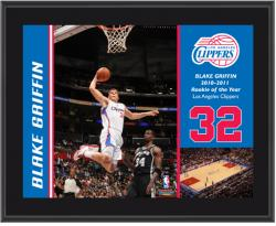 Los Angeles Clippers Blake Griffin 10'' x 13'' Sublimated Plaque - Mounted Memories