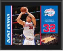 "Los Angeles Clippers Blake Griffin 10"" x 13"" Sublimated Plaque - Mounted Memories"