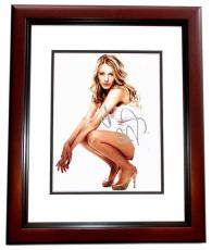 Blake Lively Signed - Autographed Gossip Girl Actress 8x10 inch Photo MAHOGANY CUSTOM FRAME - Guaranteed to pass PSA or JSA