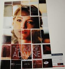 Blake Lively 'the Age Of Adaline' Signed 11x17 Movie Poster Psa/dna Coa Y90584