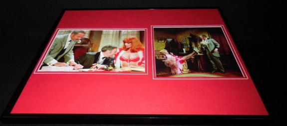 Blazing Saddles Mel Brooks Robyn Hilton Framed 16x20 Photo Display