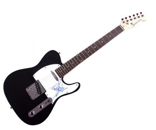 Blink 182 Mark Hoppus Autographed Signed Tele Guitar AFTAL UACC RD COA