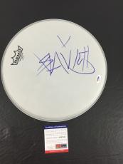 Blink 182 Travis Barker Signed Auto Blink-182 12 Inch Remo Drumhead Psa/dna Coa