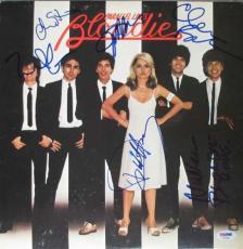 Blondie Autographed Signed Album LP Record Certified Authentic PSA/DNA COA