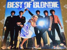 Blondie Debbie Harry Jsa Signed Best Of Album W/ Vinyl Authentic Autograph