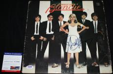 BLONDIE Debbie Harry signed album, Heart of Glass, Proof, PSA/DNA AC54060