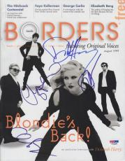 BLONDIE Group Signed Autographed Magazine PSA/DNA Debbie Harry +3