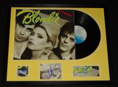 Blondie Group Signed Framed 1979 Eat to the Beat Record Album Display C