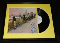 Blondie Group Signed Framed 1980 Autoamerican Record Album Display
