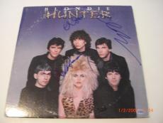 Blondie Hunter Debbie Harry,clem Burke,chris Stein Td/holo Signed Record Album