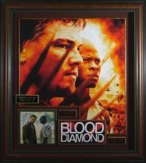 Blood Diamond Autographed Home Theater Display