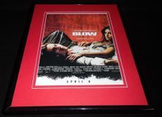 Blow 2001 Framed 11x14 ORIGINAL Vintage Advertisement Penelope Cruz Johnny Depp
