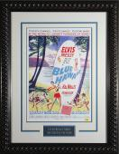 Blue Hawaii - Elvis Presley Framed 11x17 Publicity Movie Pos