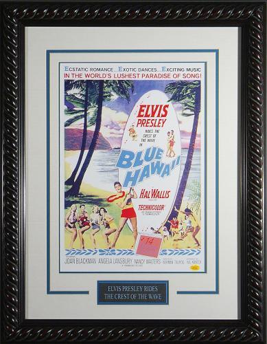 Blue Hawaii - Elvis Presley Framed 11x17 Publicity Movie Pos