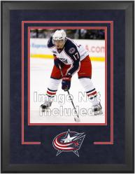 "Columbus Blue Jackets Deluxe 16"" x 20"" Vertical Photograph Frame - Mounted Memories"