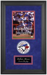 "Toronto Blue Jays Deluxe 8"" x 10"" Team Logo Frame - Mounted Memories"