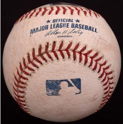 Toronto Blue Jays vs. Texas Rangers 2014 Game-Used Baseball