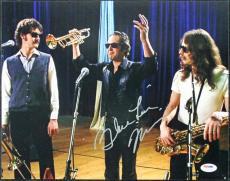 "Blue"" Lou Marini Blues Brothers Signed 11X14 Photo PSA/DNA #T50673"