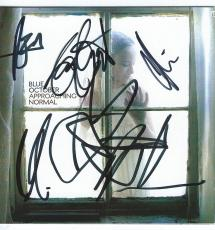 """Blue October SIGNED """"Approaching Normal"""" CD Booklet"""