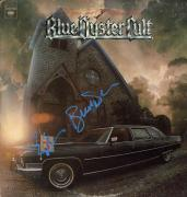 Blue Oyster Cult Autographed X2 Feet Or Knees Album Cover UACC RD COA AFTAL