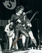 Blue Oyster Cult Buck Dharma Live Autographed Photo W/ Leather Pants