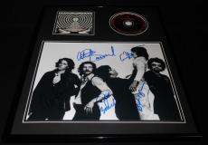 Blue Oyster Cult Group Signed Framed 16x20 CD & Photo Display Tyranny & Mutation